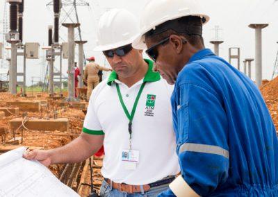 Ingeniería y Construcción de la subestación eléctrica NIF 115/13,8 kV